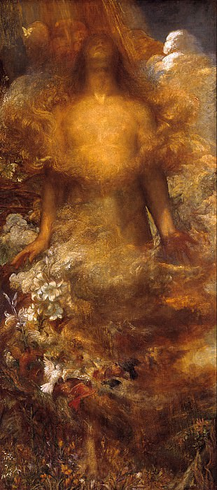George Frederic Watts - She Shall be Called Woman. Tate Britain (London)