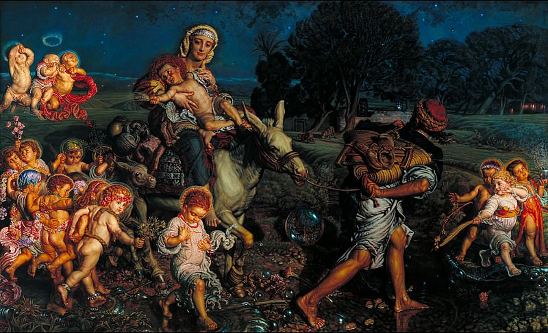 William Holman Hunt - The Triumph of the Innocents. Tate Britain (London)