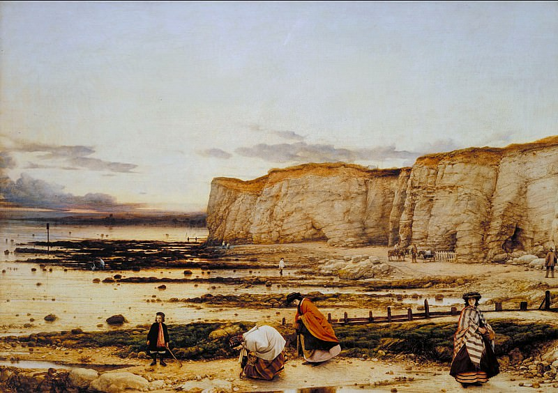 William Dyce - Pegwell Bay, Kent - a Recollection of October 5th 1858. Tate Britain (London)