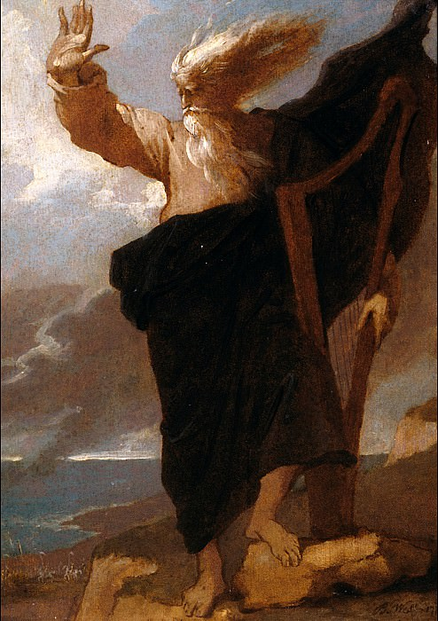 Benjamin West - The Bard. Tate Britain (London)