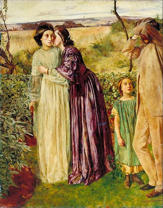 William Lindsay Windus - Too Late. Tate Britain (London)