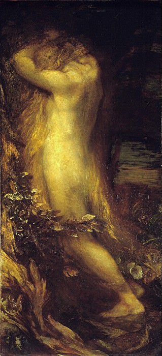 George Frederic Watts - Eve Repentant. Tate Britain (London)