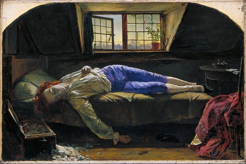 Henry Wallis - Chatterton. Tate Britain (London)