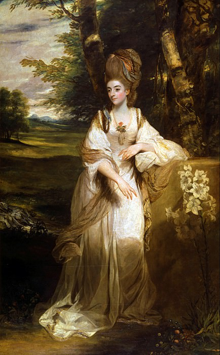 Sir Joshua Reynolds - Lady Bampfylde. Tate Britain (London)