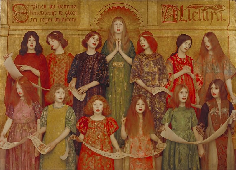 Thomas Cooper Gotch - Alleluia. Tate Britain (London)