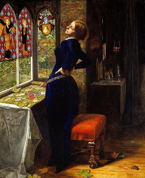 Sir John Everett Millais - Mariana. Tate Britain (London)