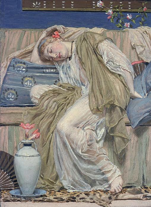 Albert Moore - A Sleeping Girl. Tate Britain (London)
