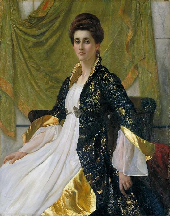 Sir William Blake Richmond - Portrait of Mrs Ernest Moon. Tate Britain (London)