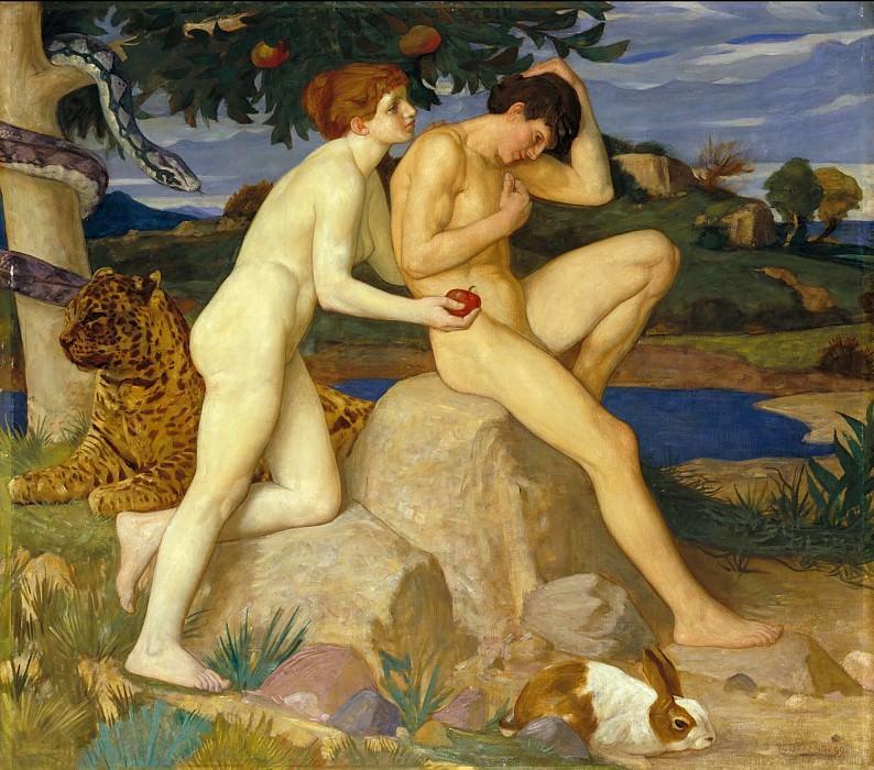 William Strang - The Temptation. Tate Britain (London)