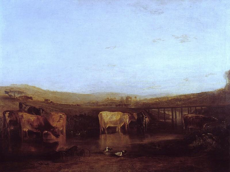 Joseph Mallord William Turner - Dorchester Mead, Oxfordshire. Tate Britain (London)