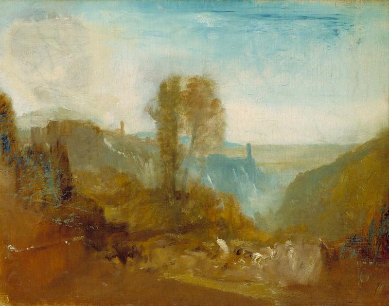 Joseph Mallord William Turner - Tivoli, the Cascatelle. Tate Britain (London)