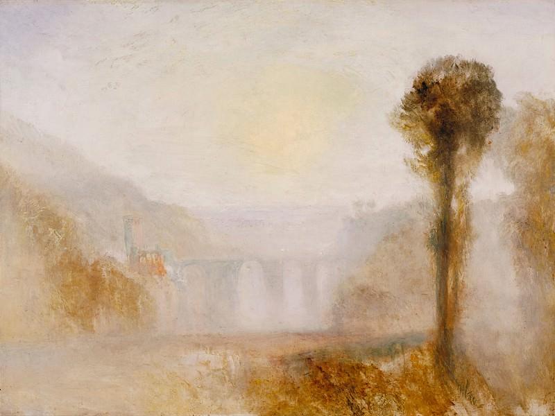 Joseph Mallord William Turner - The Ponte Delle Torri, Spoleto. Tate Britain (London)