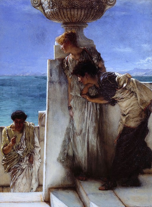 Sir Lawrence Alma-Tadema - A Foregone Conclusion. Tate Britain (London)