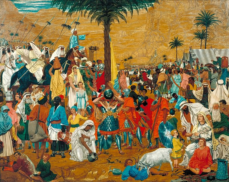 Richard Dadd - The Flight out of Egypt. Tate Britain (London)