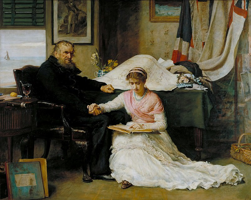 Sir John Everett Millais, Bt - The North-West Passage. Tate Britain (London)