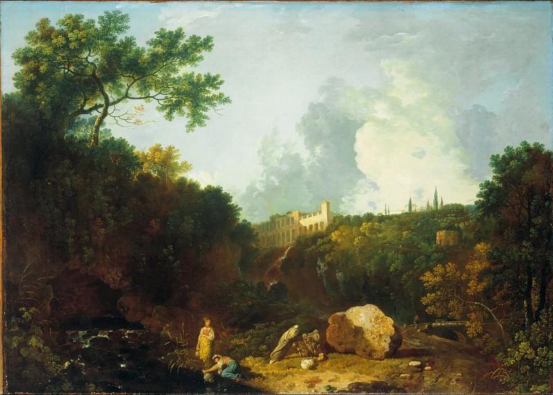 Richard Wilson - Distant View of Maecenas Villa, Tivoli. Tate Britain (London)