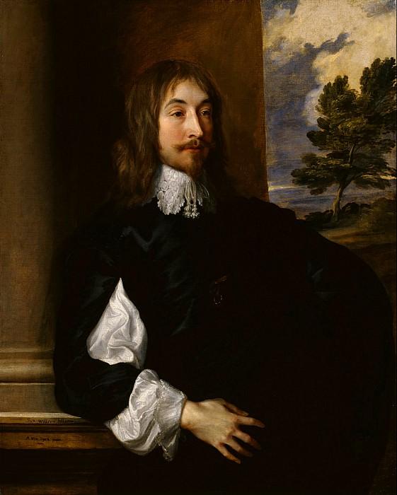 Sir Anthony Van Dyck - Portrait of Sir William Killigrew. Tate Britain (London)
