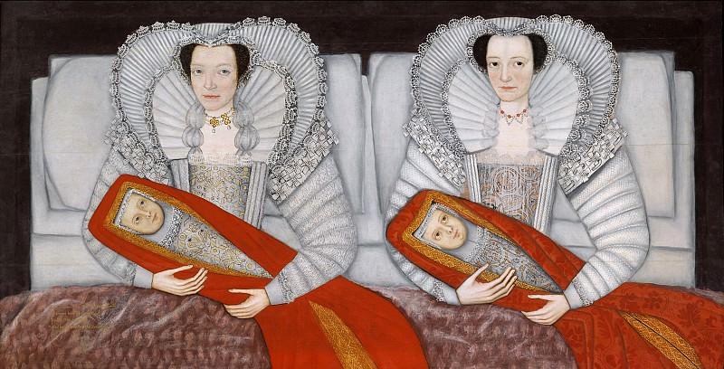 British School 17th century - The Cholmondeley Ladies. Tate Britain (London)