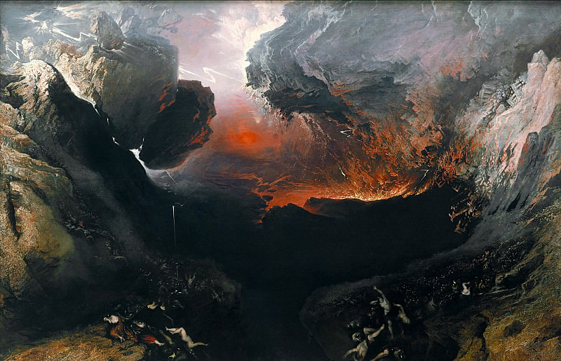 John Martin - The Great Day of His Wrath. Tate Britain (London)