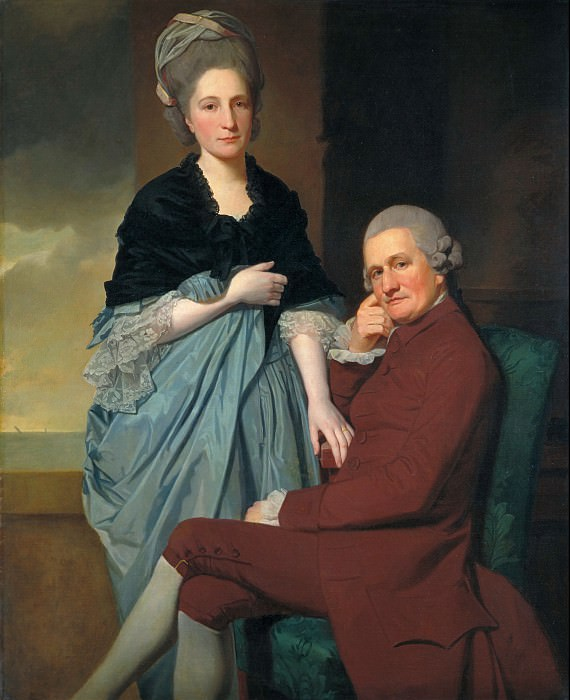 George Romney - Mr and Mrs William Lindow. Tate Britain (London)