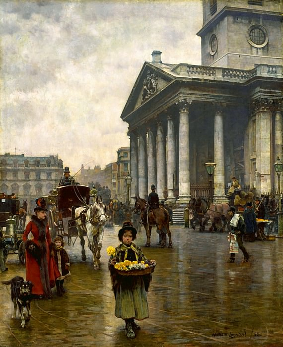 William Logsdail - St Martin-in-the-Fields. Tate Britain (London)