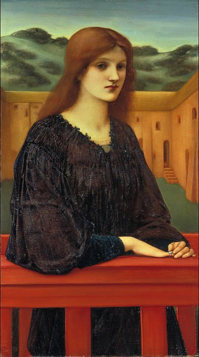 Sir Edward Coley Burne-Jones - Vespertina Quies. Tate Britain (London)