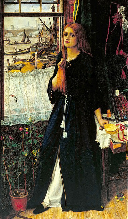 John Roddam Spencer Stanhope - Thoughts of the Past. Tate Britain (London)
