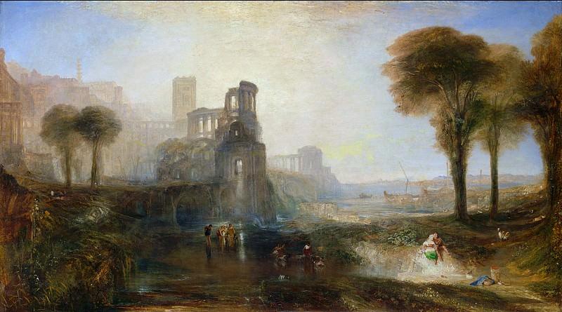 Joseph Mallord William Turner - Caligula's Palace and Bridge. Tate Britain (London)