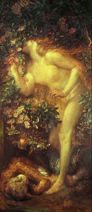 George Frederic Watts - Eve Tempted. Tate Britain (London)