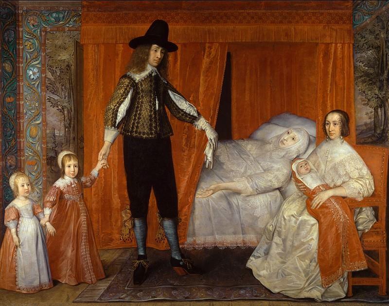 David Des Granges - The Saltonstall Family. Tate Britain (London)