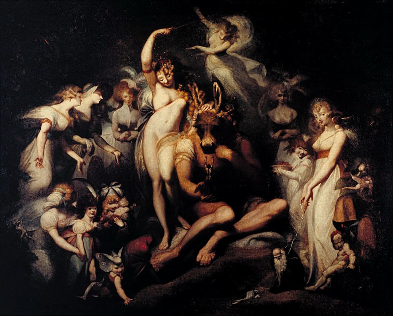 Henry Fuseli - Titania and Bottom. Tate Britain (London)
