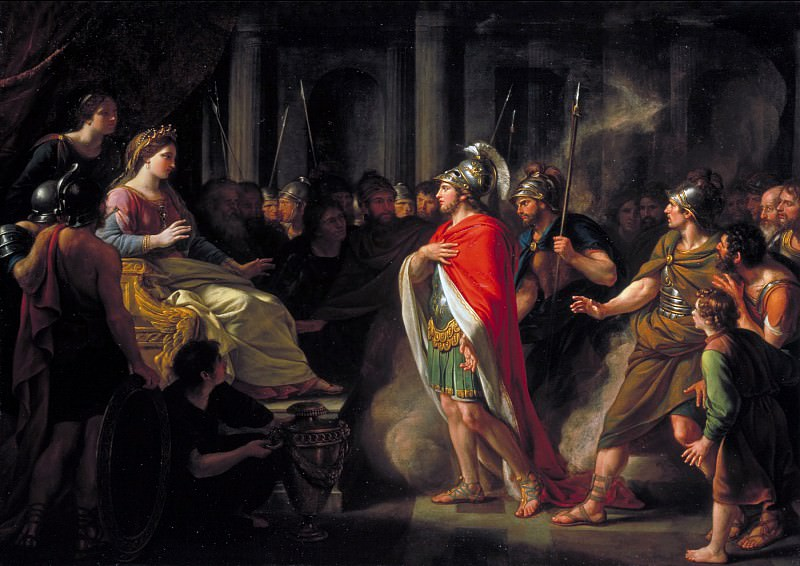 Sir Nathaniel Dance-Holland - The Meeting of Dido and Aeneas. Tate Britain (London)