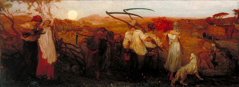 George Mason - The Harvest Moon. Tate Britain (London)
