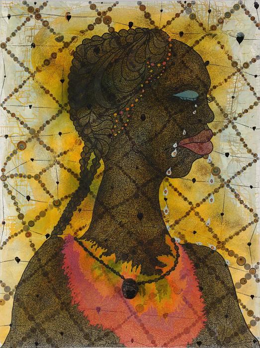 Chris Ofili - No Woman, No Cry. Tate Britain (London)