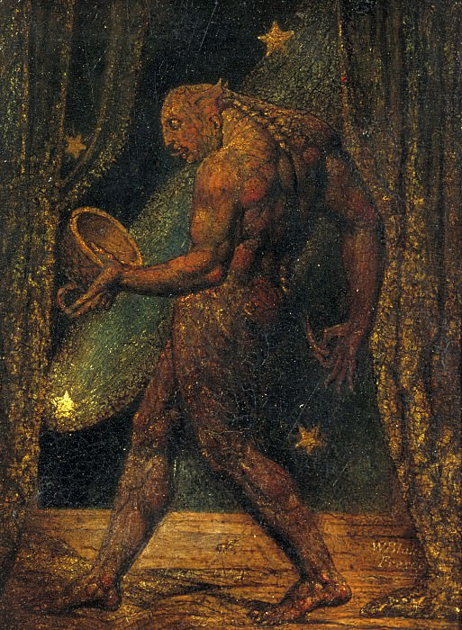 William Blake - The Ghost of a Flea. Tate Britain (London)