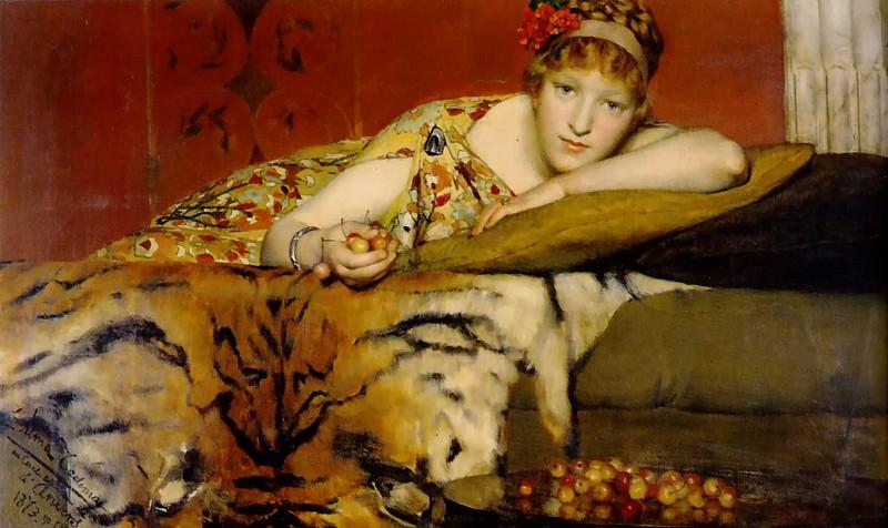 Cherries. Lawrence Alma-Tadema