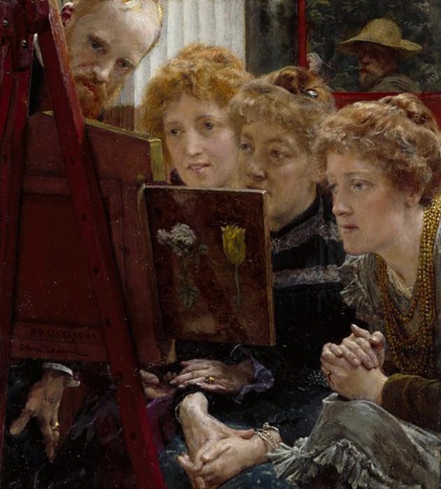 A Family Group. Lawrence Alma-Tadema