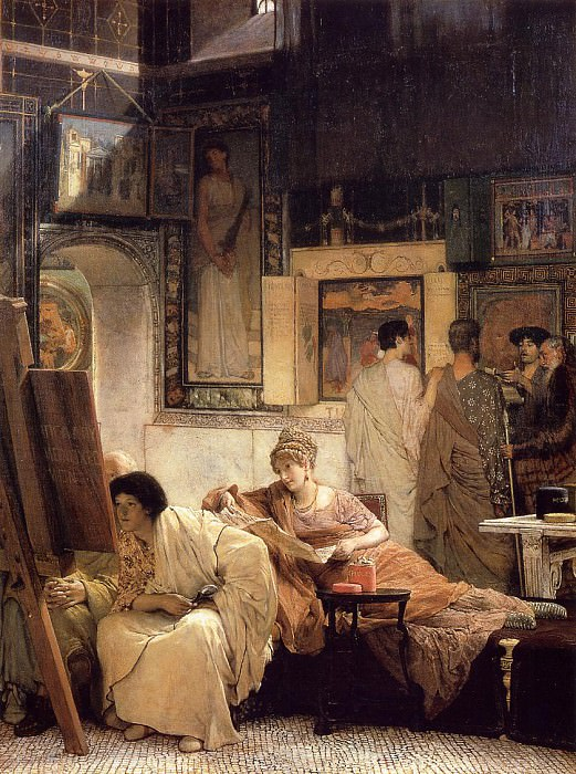 Picture Gallery II. Lawrence Alma-Tadema