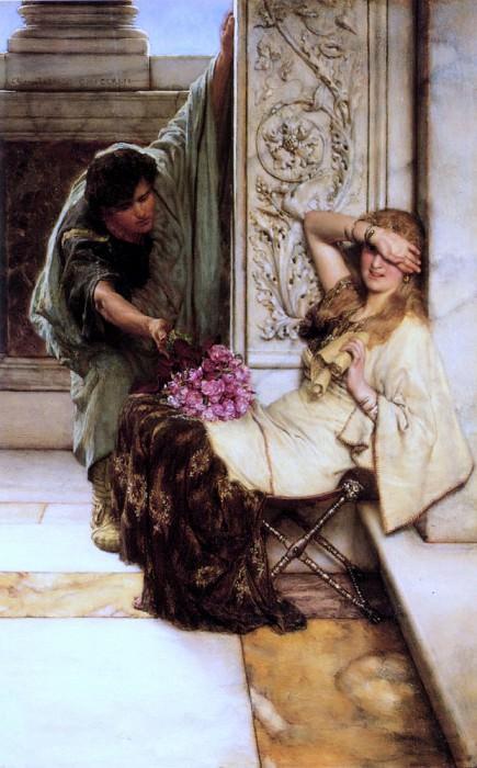 Shy. Lawrence Alma-Tadema