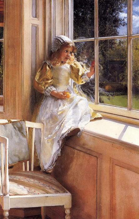 Sunshine. Lawrence Alma-Tadema
