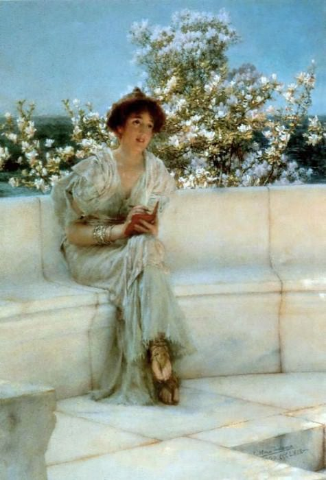 The Year's at the Spring, All's Right with the World. Lawrence Alma-Tadema