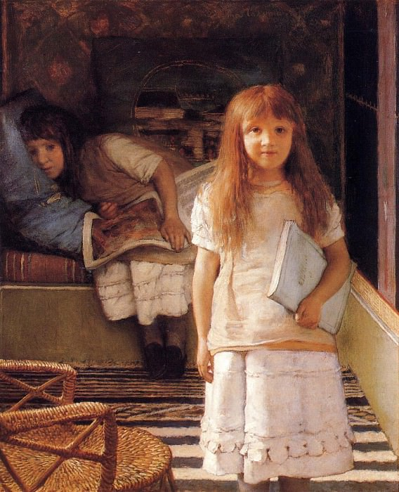 This is Our Corner. Lawrence Alma-Tadema