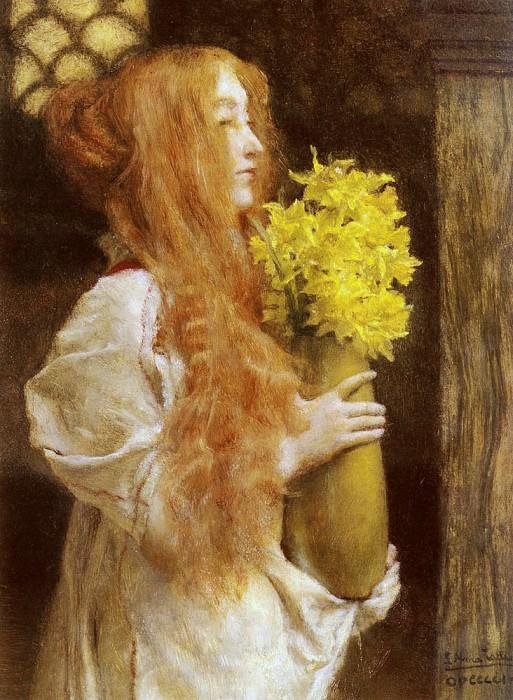 Весенние цветы. Лоуренс Альма-Тадема