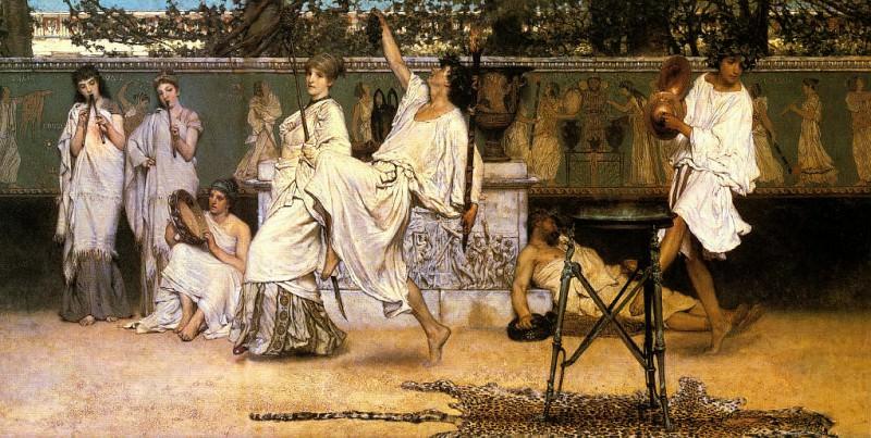 Bacchanale. Lawrence Alma-Tadema