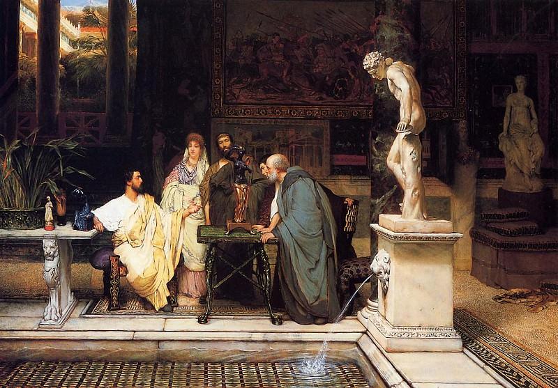 Ценитель римского искусства. Лоуренс Альма-Тадема