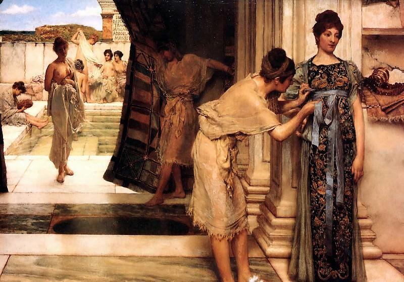 Frigidarium. Lawrence Alma-Tadema