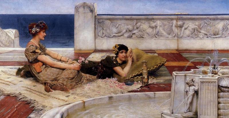 Loves votaries. Lawrence Alma-Tadema