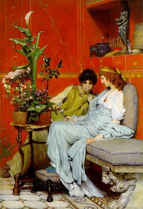 Confidences. Lawrence Alma-Tadema