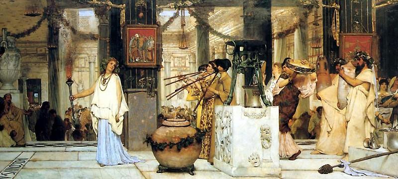 Праздник сбора винограда. Lawrence Alma-Tadema