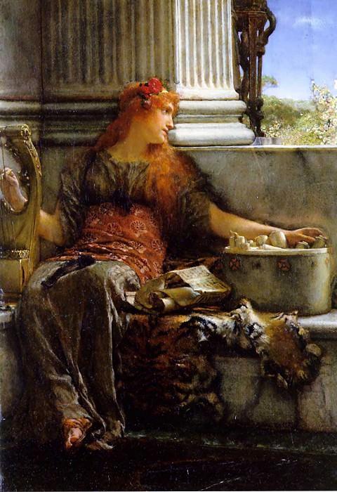 Poetry. Lawrence Alma-Tadema
